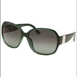 { Fendi } Green Gradient Sunglasses